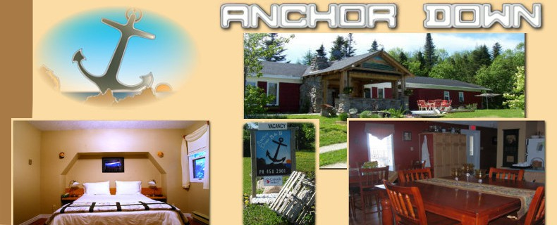 Rocky Harbour – Anchor Down B&B