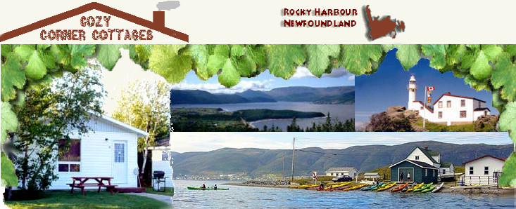 Rocky Harbour – Cozy Corner Cottages