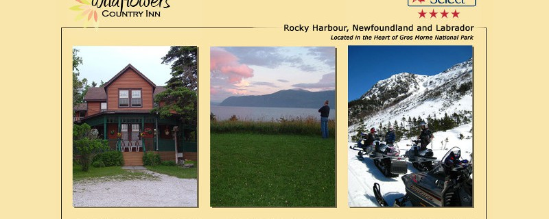 Rocky Harbour – Wildflowers Country Inn